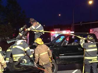 Christiana firefighters worked to free man who died in crash caused by DUI driver Scott Bartow