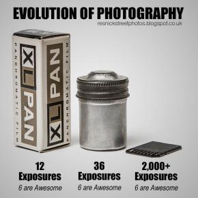 A (triste) evolução da fotografia