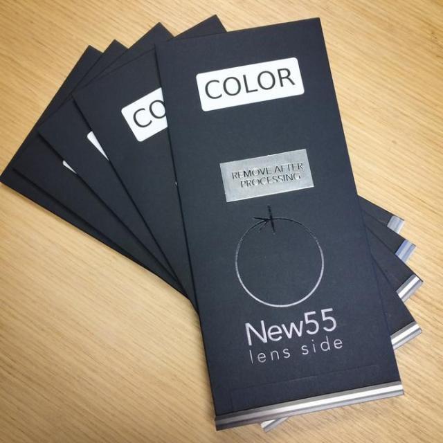 New55 Color 4x5 peelapert film no Kickstarter