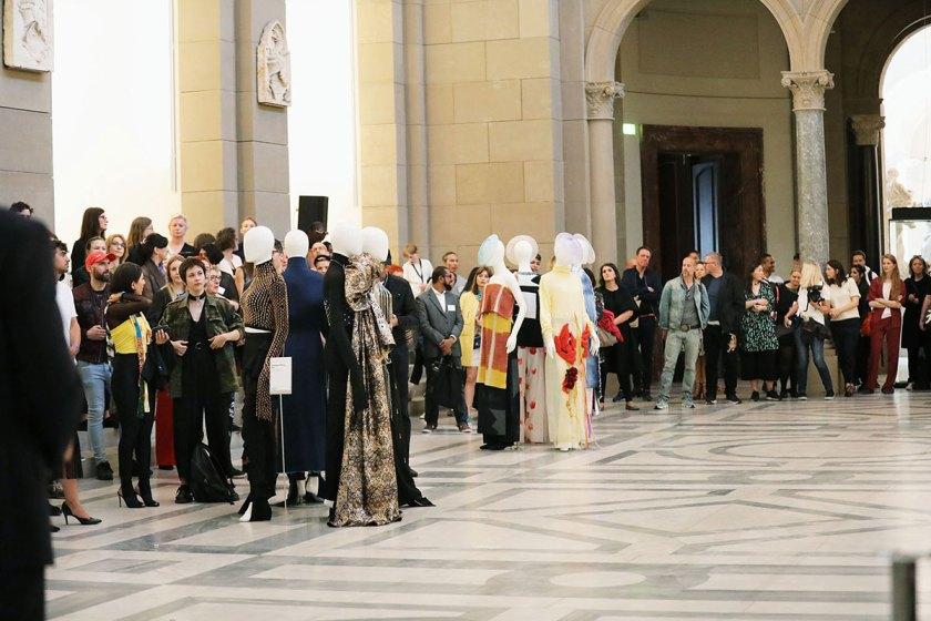 Die Preisverleihung des European Fashion Award FASH 2017 in der Basilika des Berliner Bode-Museum. Foto: © Bernhard Ludewig / SDBI