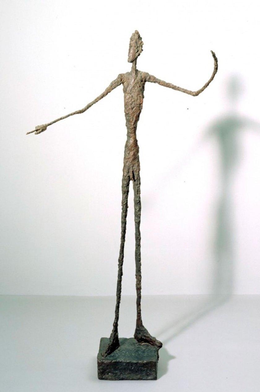 Alberto Giacometti Man Pointing 1947 Tate ©Alberto Giacometti estate / ACS+DACS in the UK, 2017