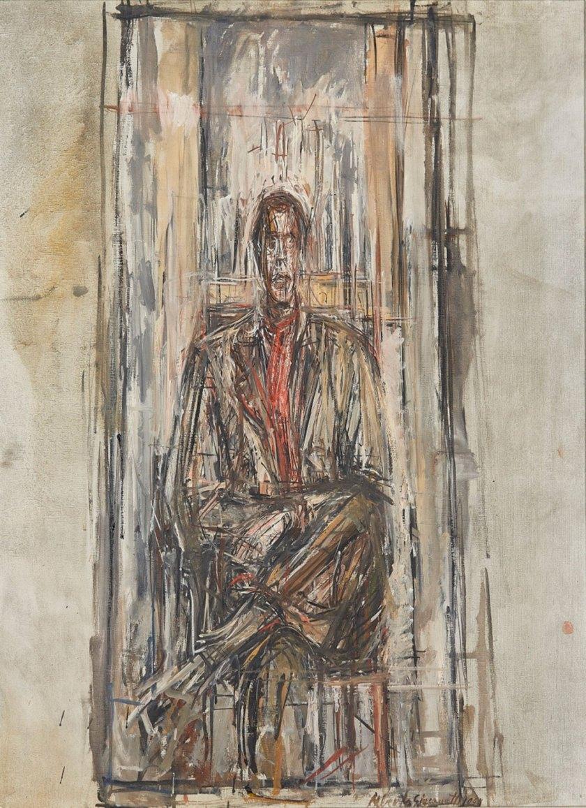 Diego Seated 1948 Sainsbury Centre for the Visual Arts, Norwich © Alberto Giacometti Estate, ACS/DACS, 2017