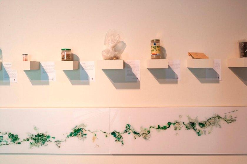 Vista de la exposición. Cortesía de © MUSAC