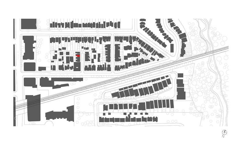 Site plan.Courtesy of Aleph-Bau