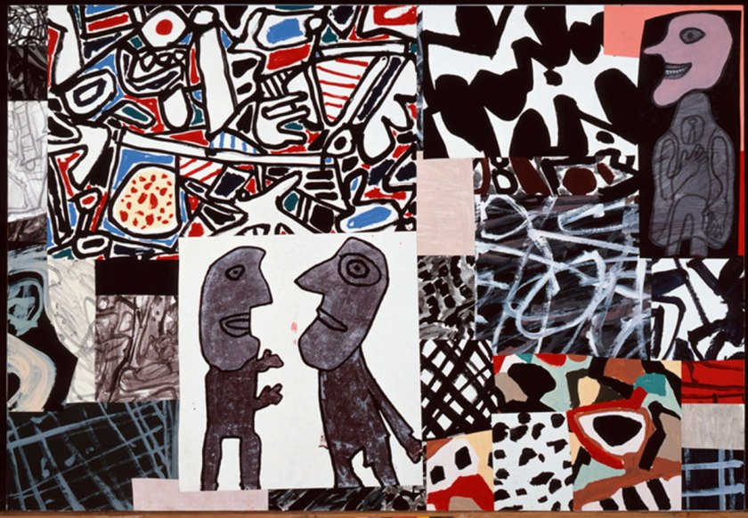 """Jean Dubuffet """"Les commentaires"""", May 24, 1978."""