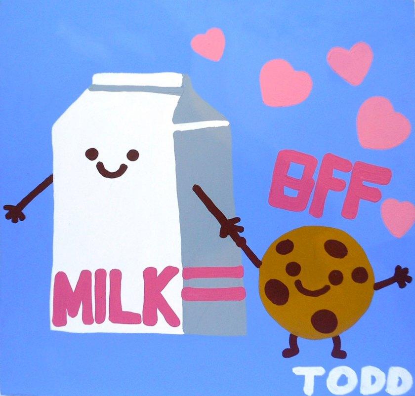 BFF Milk & Cookies © Todd Goldman