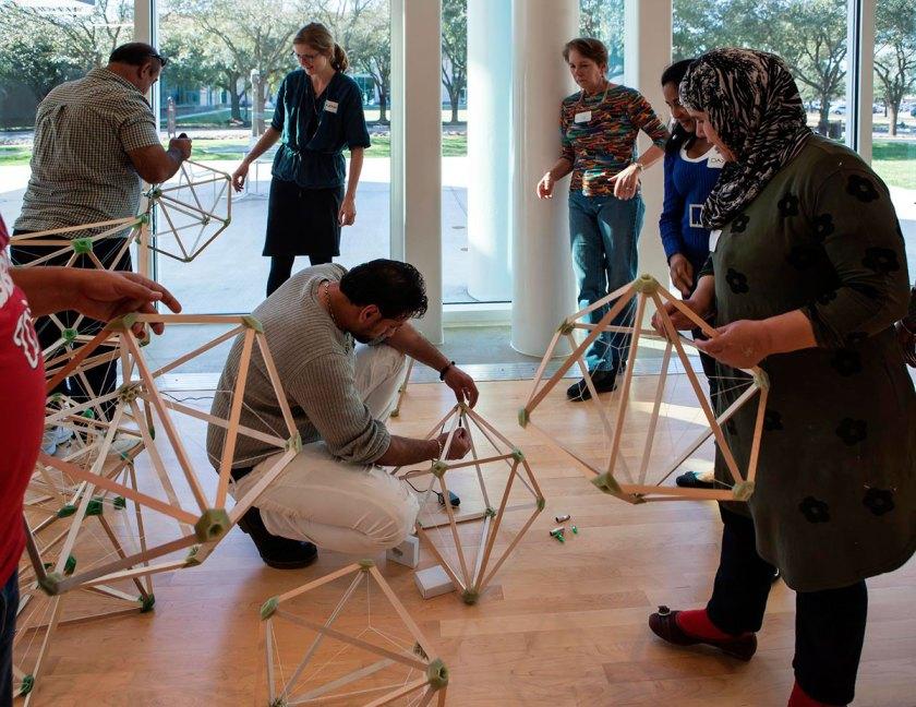 El mismo evento anteriormente en Moody Center for the Arts, Houston, 2017