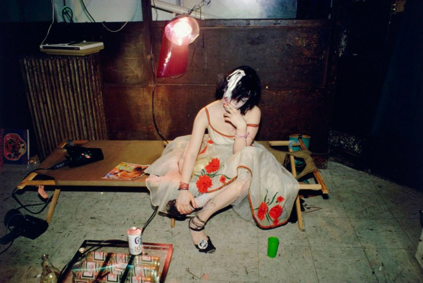Trixie on the Cot, New York City, 1979 © Nan Goldin