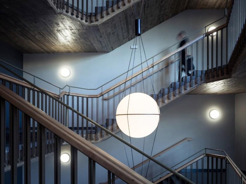 CENTRO DE FORMACIÓN PLANETA. La Granja Design. Hospitalet de Llobregat (Barcelona). Interiores. Foto: Joan Guillamat.