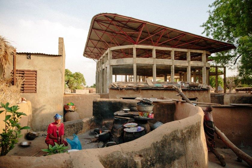 Centro de mujeres, Gando, Burkina Faso (2011-en curso) © Daniel Schwartz