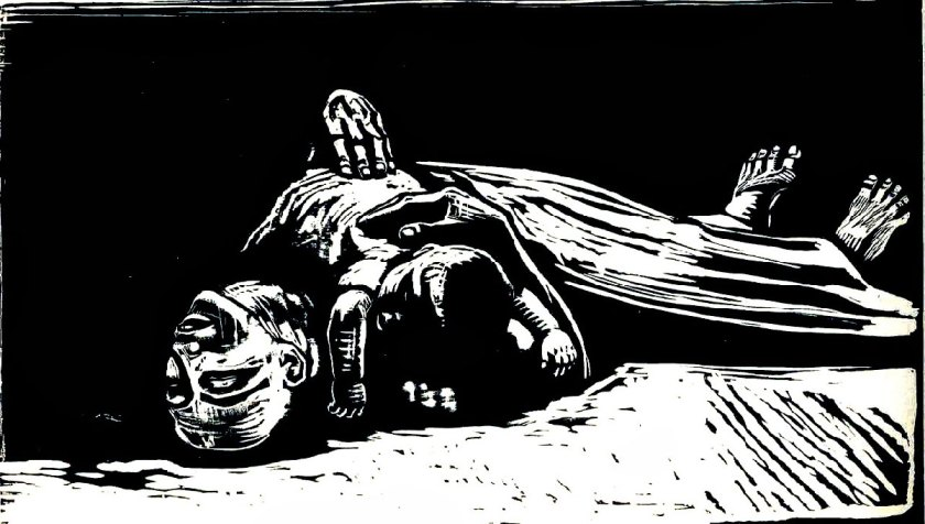"""La Viuda II"" Kathe Kollwitz - 1922"