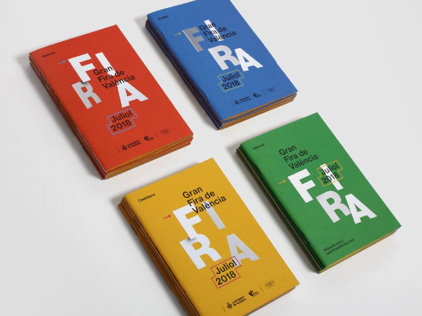 Título: Gran Fira de València 2018 Cliente: Regidoria de Cultura Festiva. Ajuntament de València Diseño: Ibán Ramón Estudio: Ibán Ramón