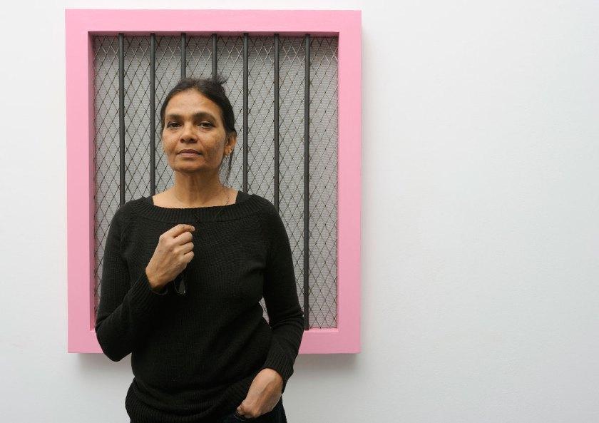 Sheela Gowda Portrait. Photo: Thierry Bal