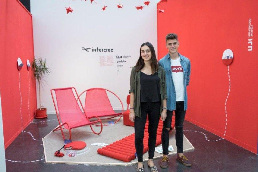 Francisco Mazo y Beatriz Silvia responden al cuestionario de POCKET DESIGN GUIDE durante la Feria Hábitat Valencia el pasado mes de septiembre.