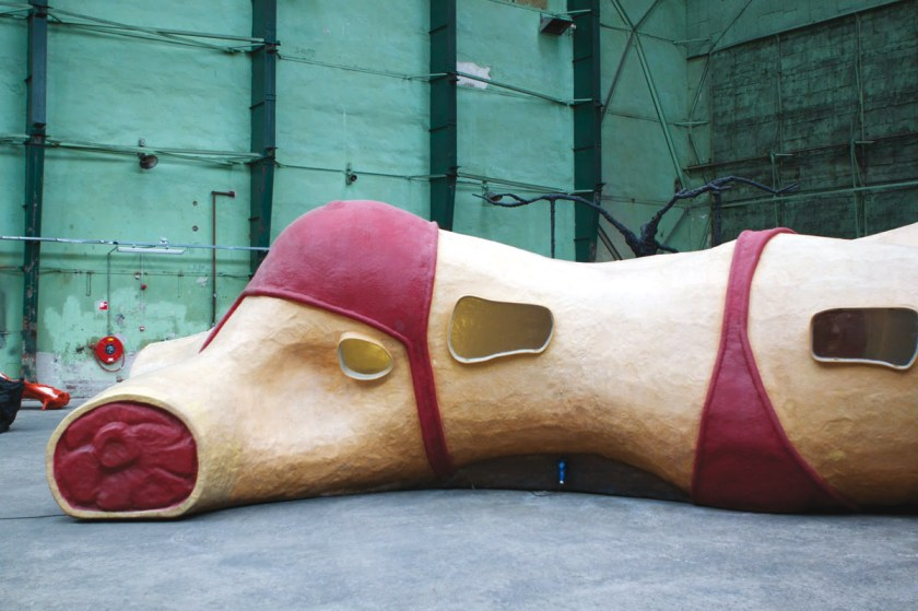 BIKINI BAR by Atelier van Lieshout