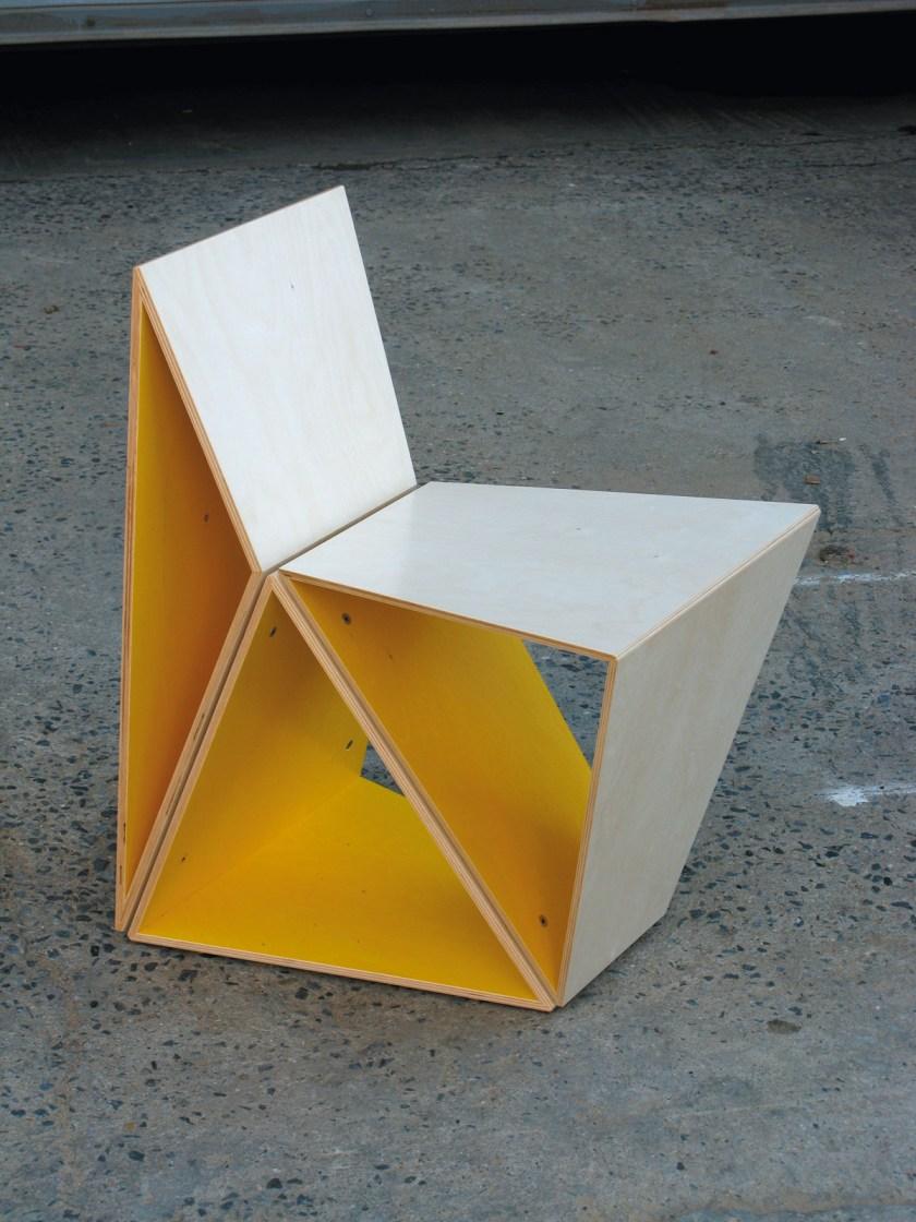 3x3 chair © Takeshi Miyakawa
