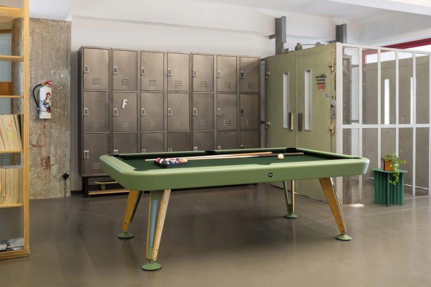 Mesa de billar diagonal Diseño : Yonoh Empresa : RS Barcelona