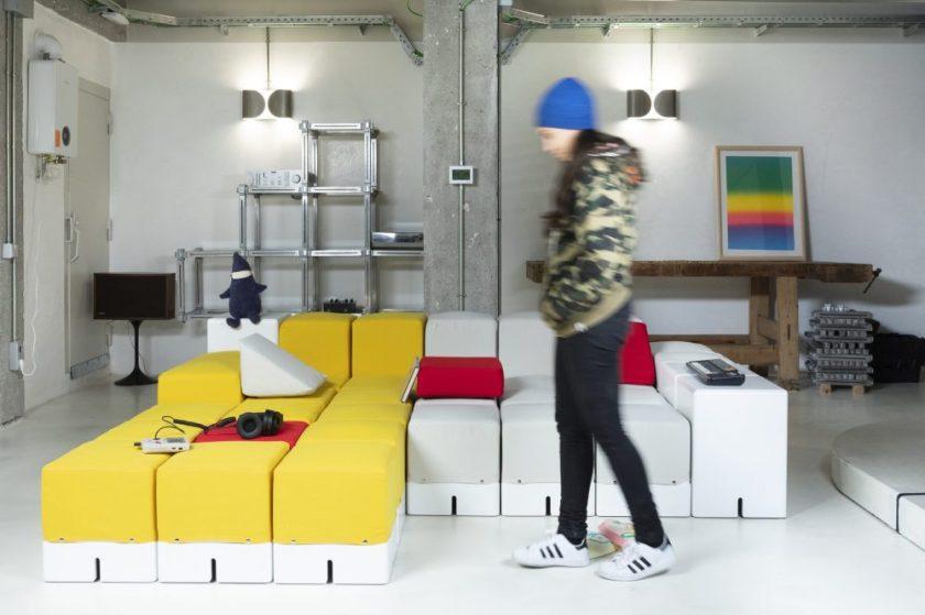 Keigio Sofa Diseño : Keigio Design - Giovanni Brun Empresa : Obiform / Tapicería MJC