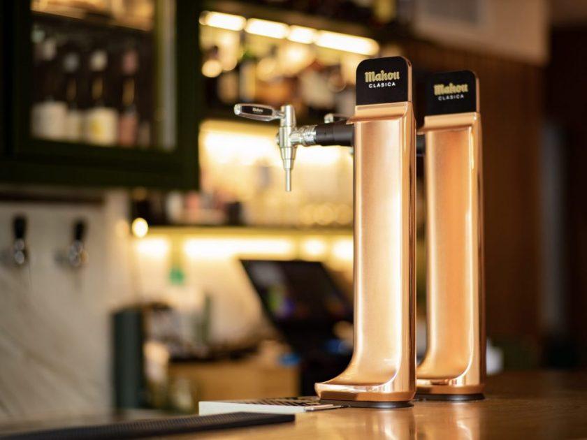 Columna de cerveza Metrópolis Diseño : Gauzak Empresa : Mahou