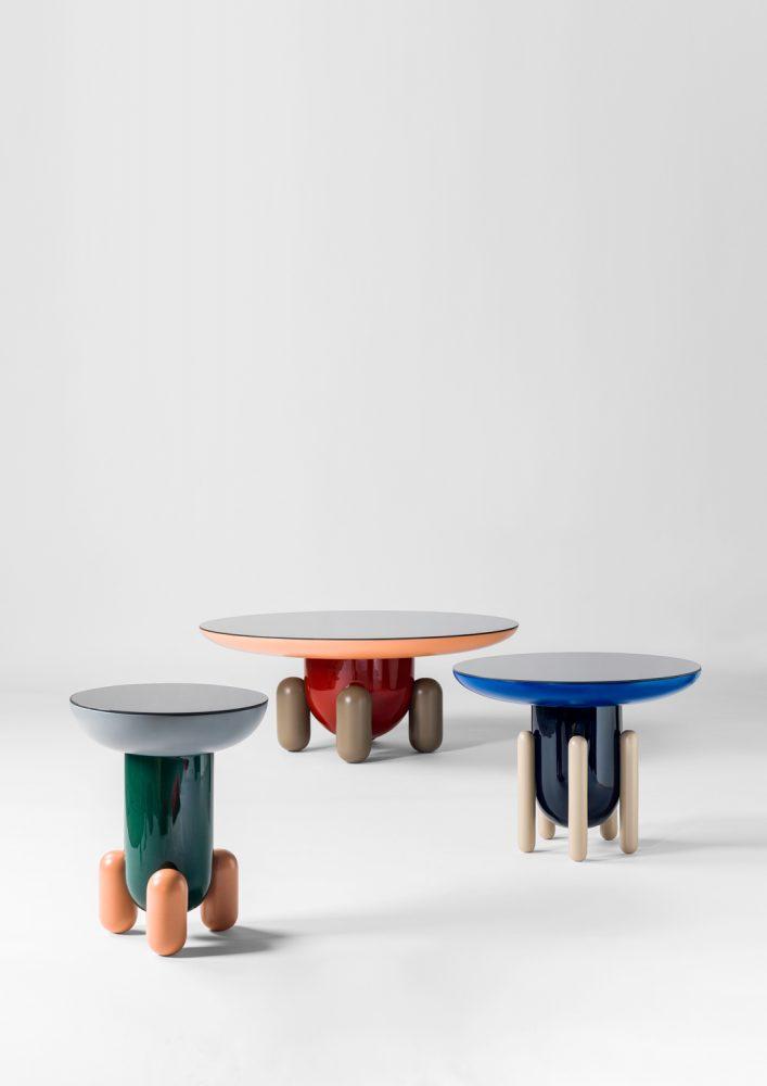 Mesas Explorer Diseño : BD Barcelona Design - Jaime Hayon Empresa : BD Barcelona Design