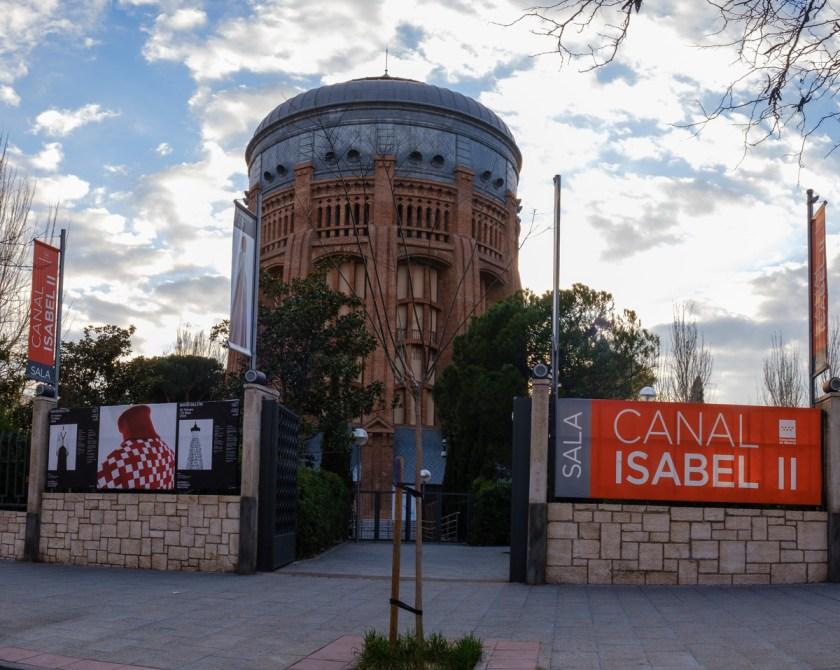 David Delfín. Sala Canal de Isabel II de la Comunidad de Madrid. Foto: Guillermo Gumiel