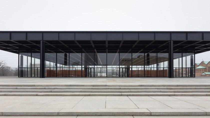 La Neue Nationalgalerie del Kulturforum después de la renovación © BBR / Thomas Bruns