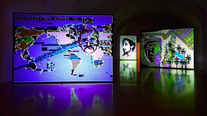 Vista de sala. Charlotte Johannesson. Llévame a otro mundo. Museo Nacional Centro de Arte Reina Sofía. Archivo fotográfico del Museo Reina Sofía