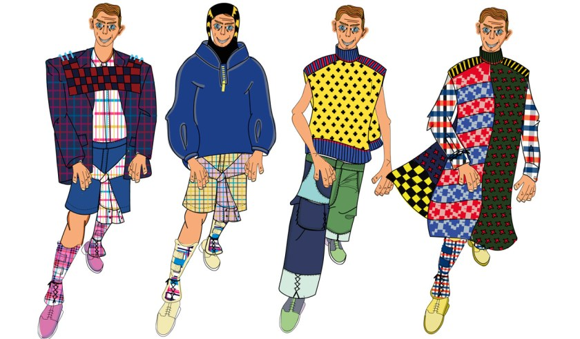 Bocetos. FAT MAN collection F/W 21.