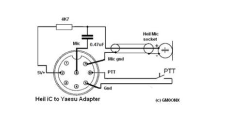 yaesu microphone wiring diagram