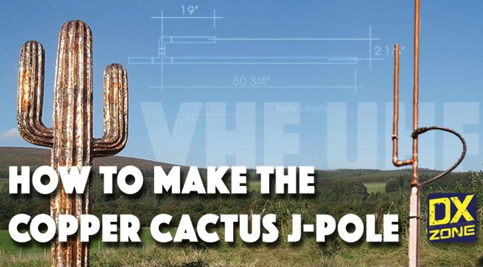 Copper Cactus antenna