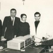 I1AVB Valerio 1ILCD Giampiero at Questura