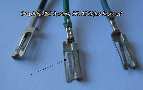 Moving ECM Harness Connector Pins