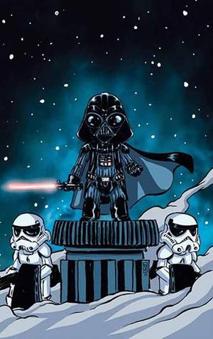 Disney Princess 3d Wallpaper Dynamic Forces 174 Star Wars Darth Vader 1 Skottie Young