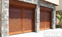 Mid Century 05| Custom Architectural Garage Door - Dynamic ...