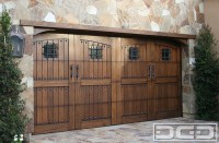 Tuscan Renaissance 02 | Custom Architectural Garage Door ...