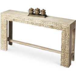 Small Crop Of Wood Console Table