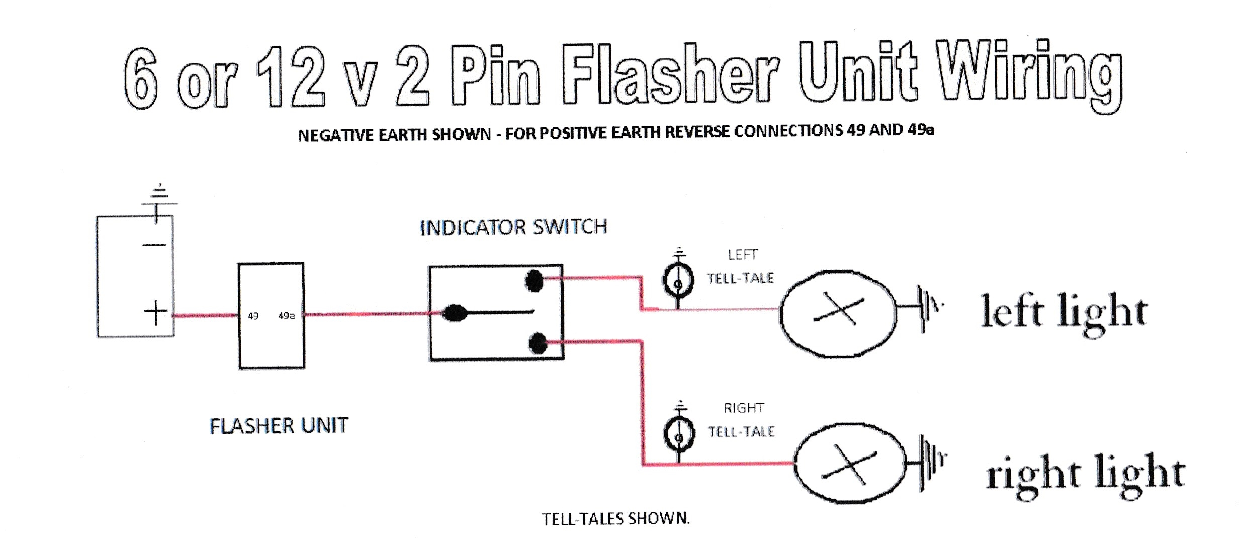 flasher relay wiring diagram internal