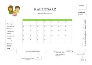 Pobierz kalendarz dla swojego dziecka