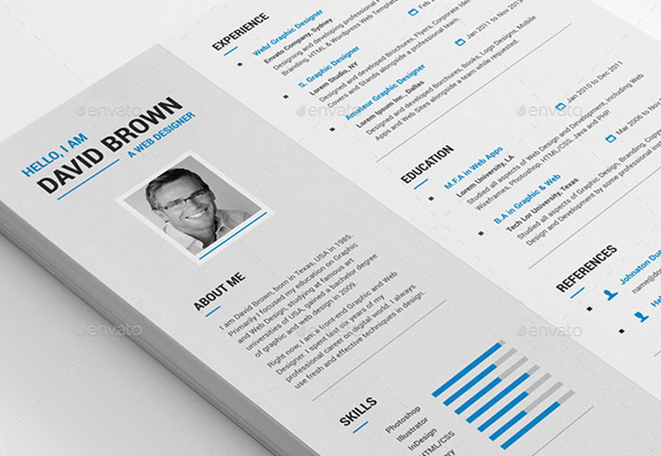 Creative-Resumejpg (600×414) Projects to Try Pinterest - resume design