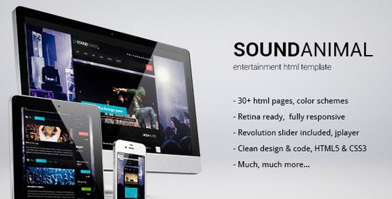 Audio and Podcast Website Themes freeradioprovo - podcast website template