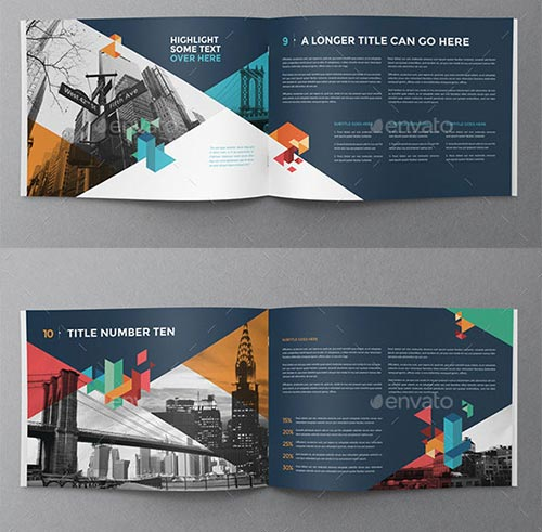 30 Inspiring PSD \ InDesign Brochure Templates - psd brochure design inspiration