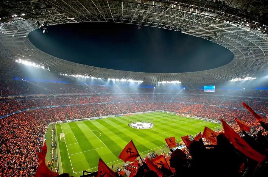 Virtual Hd Wallpapers Donbass Arena Fc Shakhtar Donetsk Stadium Ukraine E