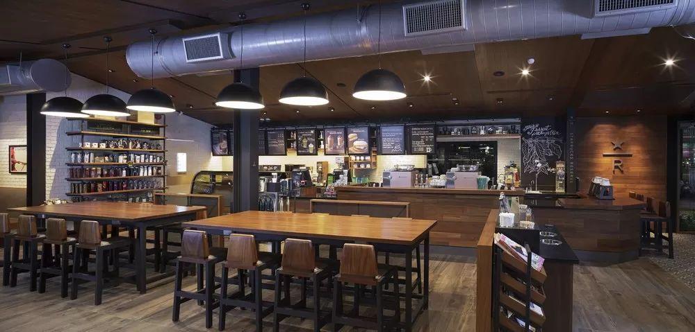 Starbucks Food Villa In Bangkok