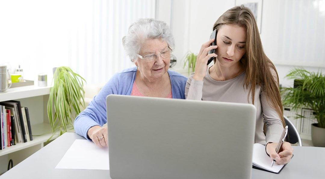 Service pour les seniors