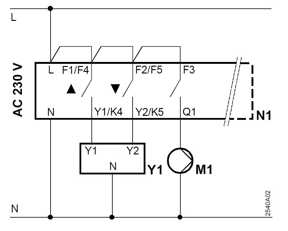 safety mat schema cablage