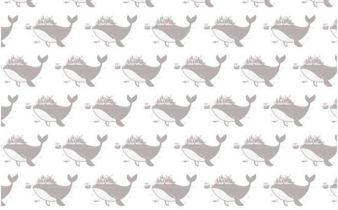 Cute Whale Wallpaper Papier Peint Baleine Gris Rose D 233 Co Chambre B 233 B 233