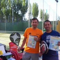 Ganadores Torneo Padel Solidario ACHE 2015