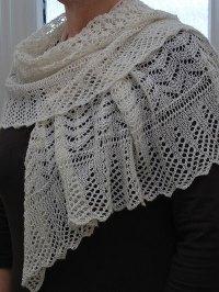 Shetland Sand Lace Shawl