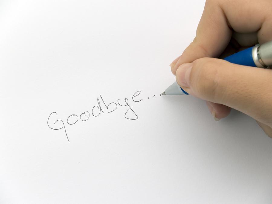 Goodbye Thank You Cards Goodbye Note Cards - Cafepress Goodbye - goodbye note