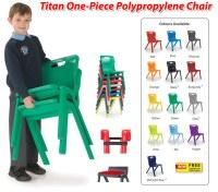e4e: Trusted Titan Stackable Classroom Chair Supplier